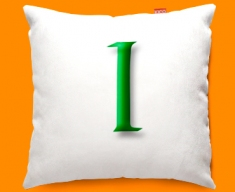 Google L Funky Sofa Cushion 45x45cm