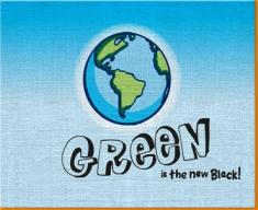 Green Earth Canvas Art Print