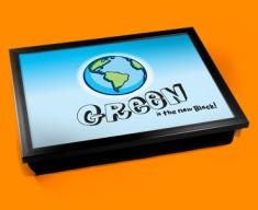 Green Earth Cushion Lap Tray