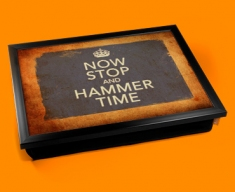 Hammer Time Keep Calm Vintage Lap Tray