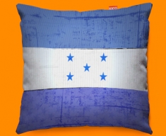 Honduras Flag Cushion 45x45cm