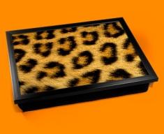 Leopard Animal Skin Lap Tray