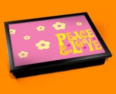 Peace & Love Cushion Lap Tray