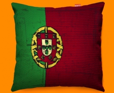 Portugal Flag Cushion 45x45cm