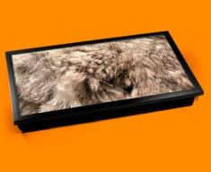 Rabbit Animal Skin Laptop Lap Tray