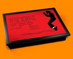 Red Jackson Cushion Lap Tray