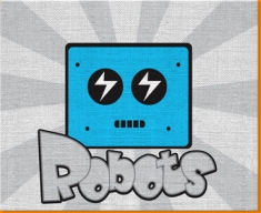 Robots Canvas Art Print