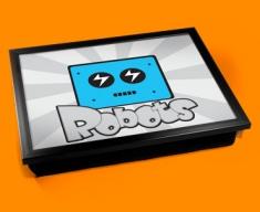 Robots Cushion Lap Tray