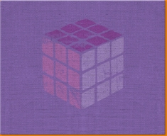 Rubik's Cube Canvas Art Print