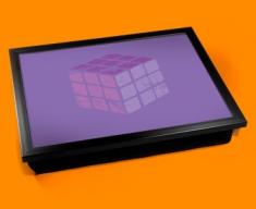 Rubik's Cube Cushion Lap Tray