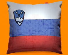 Slovakia Flag Cushion 45x45cm