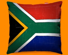 South Africa Flag Cushion 45x45cm