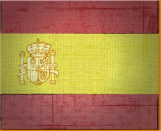 Spain Canvas Art Print