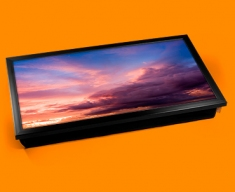 Sunset Clouds Laptop Lap Tray
