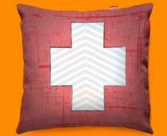 Switzerland Flag Cushion 45x45cm