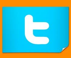 Twitter Logo Social Networking Poster