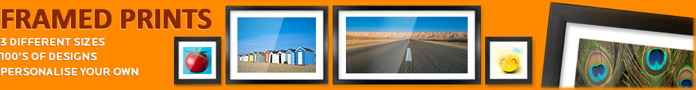 Personalised framed prints by Kico